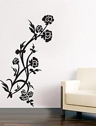 adesivos de parede adesivos de parede, flor de decoração mural citações parede pvc adesivos