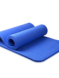 10MM NBR Solid Color NBR Fitness Yoga Mat