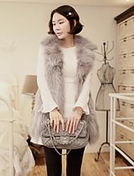 outwear invierno nueva capa de la manera de las mujeres Aier (gris) 15
