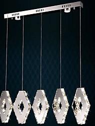 lampes suspendues 5 lumière simple et moderne artistique