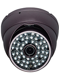 Vanxse Surveillance Camera CCTV 48IR CMOS IR-CUT 900TVL Day/Night HD Armour Dome Security Camera 3.6mm Metal IP66