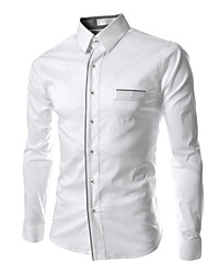 Men's Long Sleeve Shirt Casual