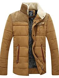 homens casaco de algodão moda do gxxg