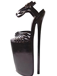 Women's Shoes Sexy Open Toe Stiletto Heel Leather Sandals  Party Shoes