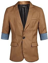 Men's Casual Blazer Trade Long Half Sleeve Blazer