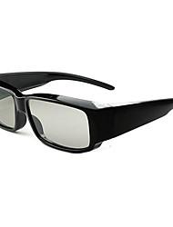 lentes de computadora alrededor circulares gafas polarizadas 3D, gafas 3D estéreo sin flash, los espejos oculares marea