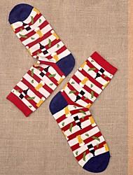 Men's Cotton/Spandex Socks