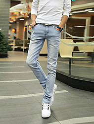 Men's Jeans , Casual Cotton