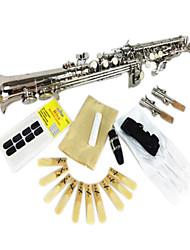argent b saxophone soprano (haute sax droite)