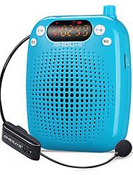 Loudspeaker Voice Amplifier Megaphone Wireless 2.4G for Teaching TF Support USB AUX MP3 SHIDU S611