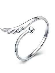 Weiyinyuan Fashion Sterling Silver Angel Wing Bracelet