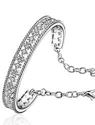 Top Selling 925 Silver Shining Zircon Bracelet