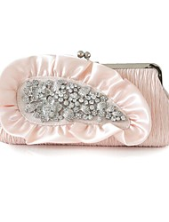 Silk Wedding / Special Occasion Clutches / Evening Handbags with Rhinestones (More Colors)