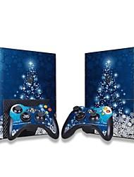 Консоль Xbox 360 наклейка защитной наклейки кожного покрова контроллер кожи