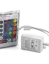 6а 24 ключевых ИК-пульт беспроводной для 3528 5050 RGB полосы