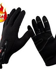 Soft Keep Warm Full Finger Bike Bicycle Mittens Windstopper Windproof Thermal Winter Cycling Gloves For Men Women