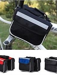 sacos coway cycling nylon andar de bicicleta de quadro (cores sortidas)
