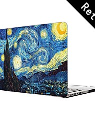 "Vortex Mural Design Full-Body Protective Plastic Case for 13""/15"" MacBook-Pro with Retina Display"
