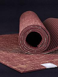 High-Grade Coffee Long Natural Flax Yoga Mats Non-Slip Mat 6Mm Yoga Mat