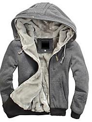 casaco de cashmere moda homem preto dos homens