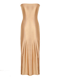 Dolce Women's Strapless Bodycon Maxi Dress