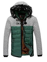 Men's New Autumn Winter To Keep Warm Hooded Cotton Coat