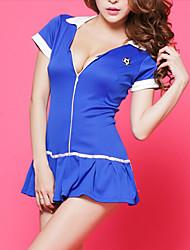 Nifty Girl Blue Poliéster Vestido Uniforme Escolar
