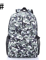 women's Fashion Vintage Camouflage School Book Bag Camping Bag Backpack