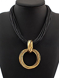 Colorful day  Women's European and American fashion necklace-0526149