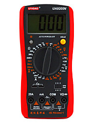 UA9205N Digital Multimeter Manual Range AC DC Voltage Current Resistance Capacitance 10 MΩ 60Hz
