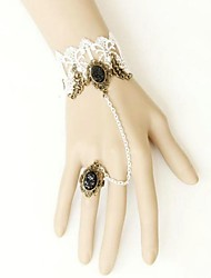 Women's Europe Type Retro Lace Bracelet