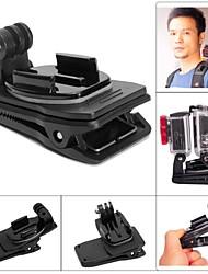 fat cat m-dr Dual-Cam-rec-Mount-Clip Rucksack Cliphalterung für GoPro Hero 4/3 + / 3/2/1 - schwarz