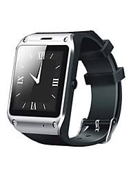 omagsm f5 Blutooth reloj inteligente 1,54 pulgadas para el iphone / samsung (podómetro, monitor de sueño, recordatorio sedentaria, etc)