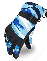 multifonction mode ski mouvement d'équitation gants chauds pour enfants en plein air (pour les anciens 9-15 ans)