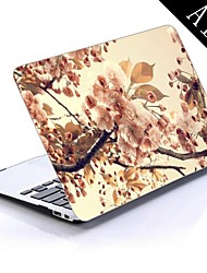 Tree Flowers Sepia Design Full-Body Protective Plastic Case for 11-inch/13-inch New MacBook Air