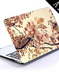 boom bloemen sepia ontwerp full-body beschermende plastic behuizing voor de 11-inch / 13-inch nieuwe MacBook Air