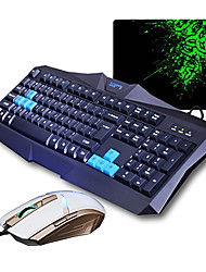 Sunsonny v90 + TM30 optische High-Speed-USB-Kabel Gaming-Tastatur + Maus (dpi) Anzug