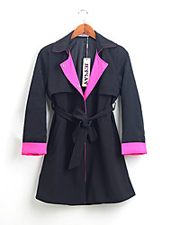 Women's Fashion Winter All-match Wind Coat