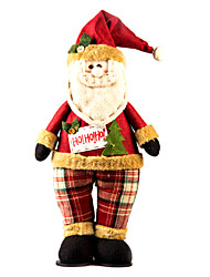 """20 """"стоя позы Санта-Клауса, фаршированные рождественские украшения"""