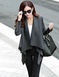 manteau de manteau de laine des femmes