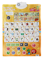 Baby's Learning Chart in Arabic with Sounds Educational Toy