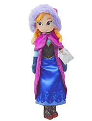 brinquedos de pelúcia congelados bonitos 40 centímetros princesa Anna bonecos de pelúcia Brinquedos filhos de presente de Natal para as meninas