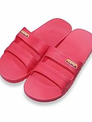 chaussures pour femmes consolent plats pantoufles de caoutchouc de chaussures à talons plus de couleurs disponibles