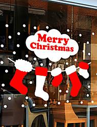 """Frohe Weihnachten schöne Schläuche Fensteraufkleber (47.28 """"w × 39.36"""" l)"""