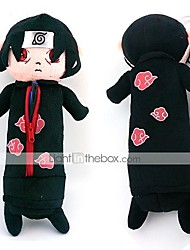 Bag Inspired by Naruto Itachi Uchiha Anime Cosplay Accessories Bag Black Polar Fleece Male / Female