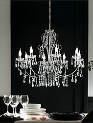Luxury Home Eight Head Crystal Chandelier