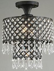 restaurantes de lujo minimalistas utilizan lámparas de techo de cristal