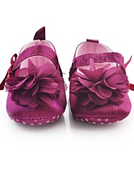 Girls' Shoes First Walkers Crib Shoes Flat Heel Flats with  Flower and Magic Tape  More Colors available