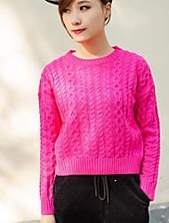 женская равнина шею пуловеры свитер (больше цветов)