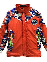 venta caliente de los niños al aire libre peso ligero cálida chaqueta con capucha impermeable